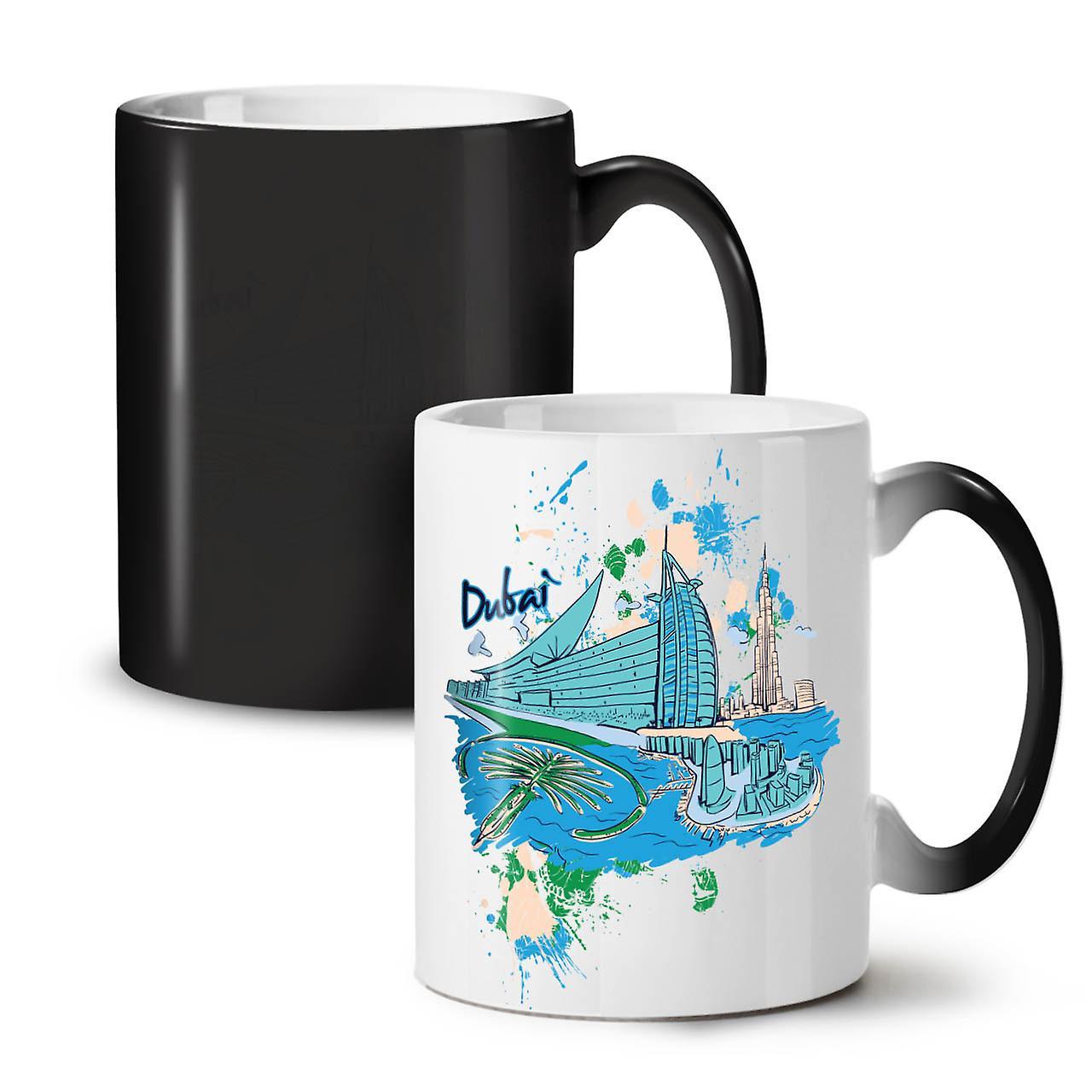 Dubai Nouveau Tasse Céramique Noir Coloris Café OzWellcoda Thé Changeant 11 lFKJ1c