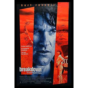 Breakdown - Signed Movie Poster