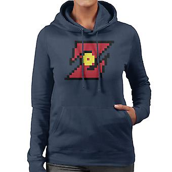 Dragon Ball Z Pixel logotyp kvinnor 's Hooded Sweatshirt