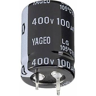 Electrolytic capacitor Snap-in 10 mm 2200 µF 63 V