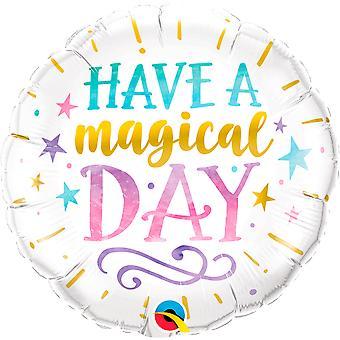Folienballon Have a magical Day Magie magischer Tag circa 45cm