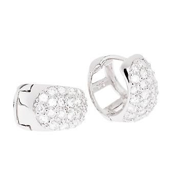 Orecchini a cerchio in argento Sterling 925 - BLING II Re 10 mm