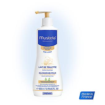 Mustela Cleansing Milk Dry Skin 500 ml