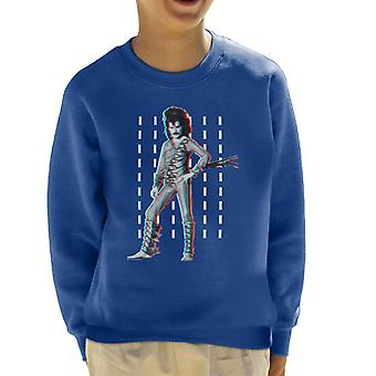 Freddie Mercury Of Queen Eye Costume 1984 Kid's Sweatshirt