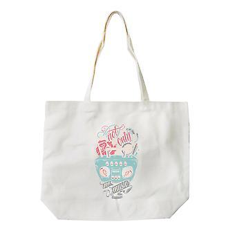 Not Only For Music Canvas Shoulder Bag