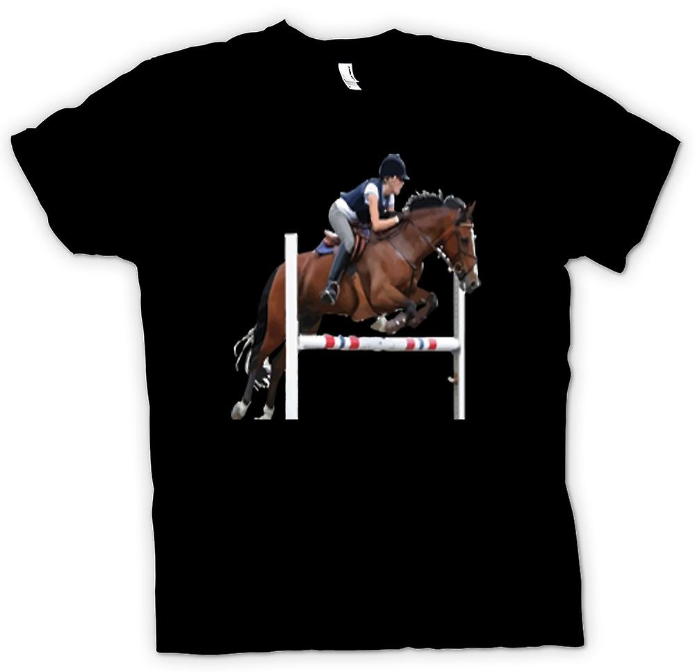 Kids T-shirt - Show Jumping Horse