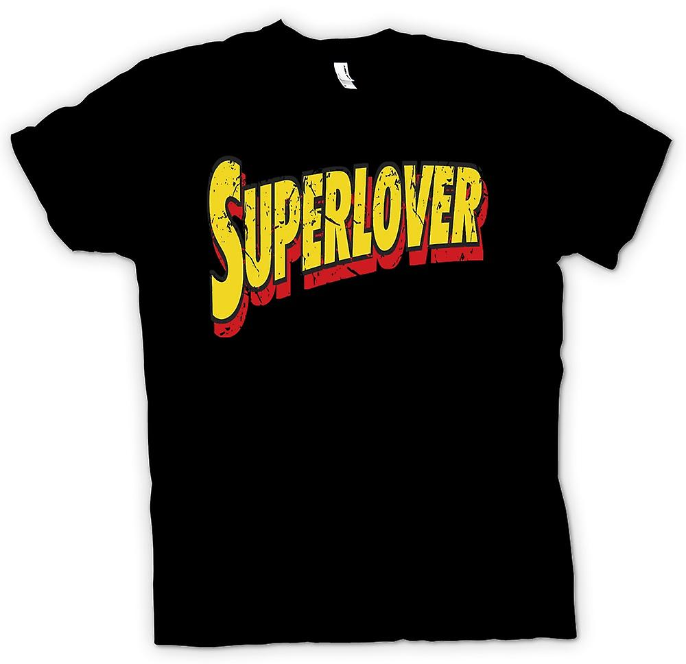 Mens T-shirt - Superlover - drôle de plaisanterie