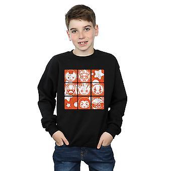 Marvel Boys Kawaii Guardians of The Galaxy Retro Sweatshirt