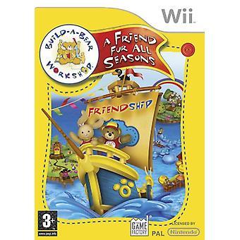 Construire une atelier A ourson Fur toutes saisons (Wii)
