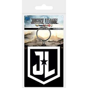 Justice League Movie (Shield) keychain