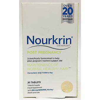 Nourkrin Post Pregnancy 30 Tablets (1 Month Supply)