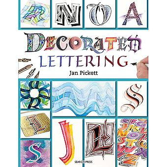 Search Press Books-Decorated Lettering