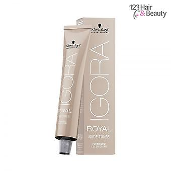 Schwarzkopf Igora Royal Nude Tones 60ml - 8/46 Light Blonde Beige Chocolate