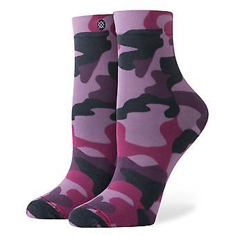 Stance Aphrodite Printed Sheer Socks - Purple