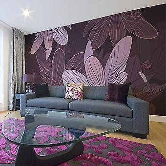 XXL wallpaper - Dreamy flowers