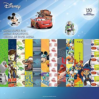 Disney Single-Sided Mega Paper Pad 12