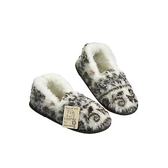 Moccasin slipper foot warmer STOCKHOLM size 36/37 new wool