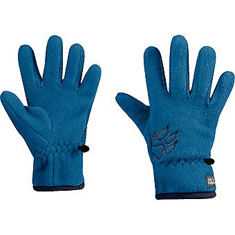 Jack Wolfskin Boys & Girls Baksmalla Warm Hardwearing Fleece Gloves