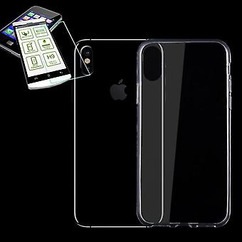 Silikoncase transparent + 0.26 mm 2.5 d H9 tempered glass for Apple iPhone XR 6.1 inch bag case new