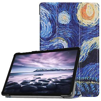 Slim Fit Cover Till Samsung Galaxy Tab A 10.5 (2018) - Oil Painting