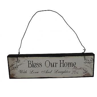 Ciel envoie Bless notre accueil Plaque décorative