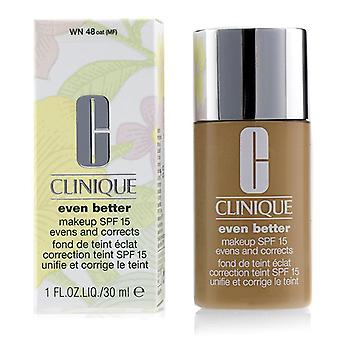 Clinique Even Better Makeup SPF15 (Dry Combination to Combination Oily) - WN 48 Oat - 30ml/1oz