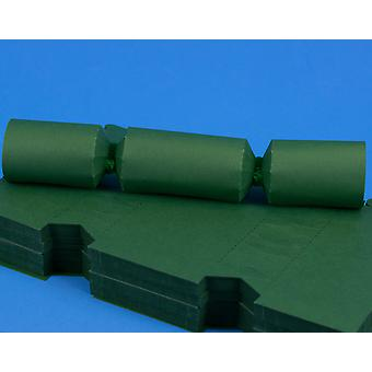 100 MINI Deep Green Make & Fill Your Own Cracker Boards