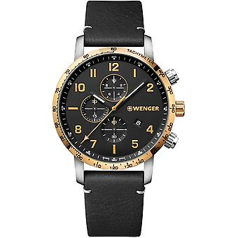 Wenger Men's Watch 01.1543.111 Chronographs