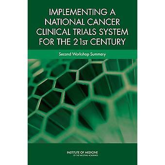 Implementazione di un sistema di test clinici National Cancer per il 21 ° Ce