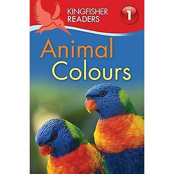 Martin-pêcheur lecteurs - couleurs animales (niveau 1 - commence à lire) (Main