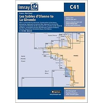 Imray Chart C41 - Les Sables d'Olonne to La Gironde by Imray - 9781846