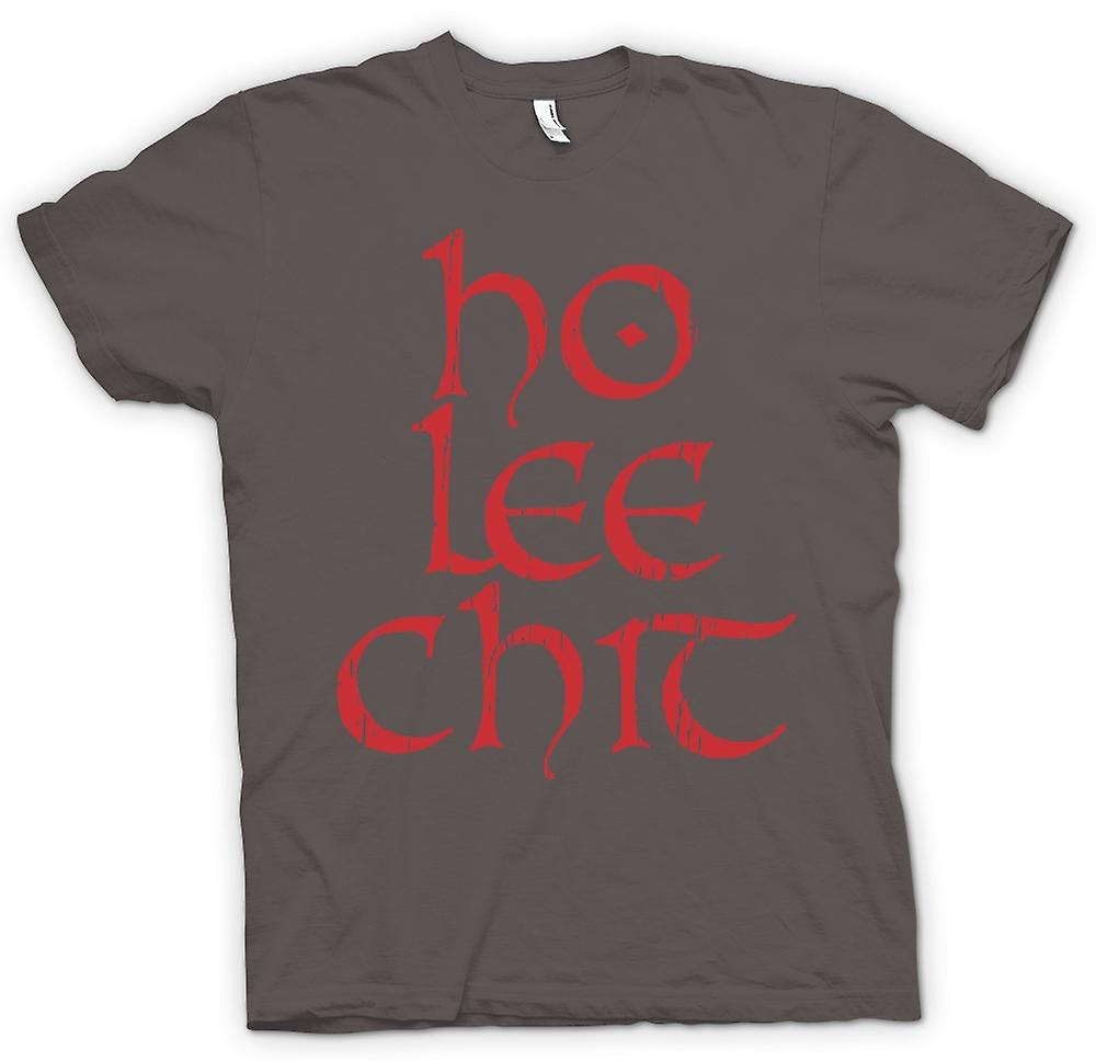 Mens T-shirt - Ho Le Chit - Funny Word Play