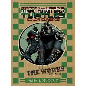 Teenage Mutant Ninja Turtles - volym 2 - verk av Kevin B. Eastman - P