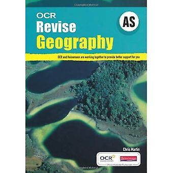 OCR AS réviser géographie (OCR une géographie niveau)