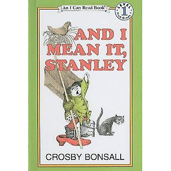 And I Mean It, Stanley (I Can Read Books: Level 1