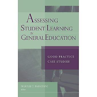 Evaluación de aprendizaje en General educación: estudios de caso de buenas prácticas (JB Anker)