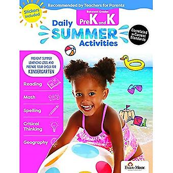 Daily Summer Activities: Moving from Prek to Kindergarten, Grades Prek-K (Daily Summer Activities)