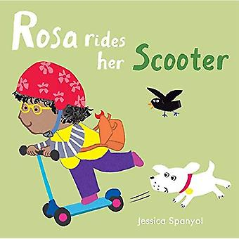 Rosa Rides her Scooter (All About Rosa) [Board book]