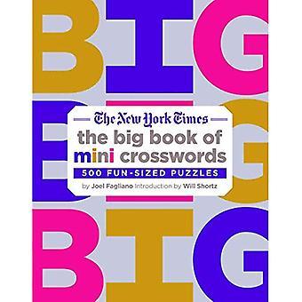 La Nueva York épocas gran libro de crucigramas Mini: 500 tamaño divertido rompecabezas
