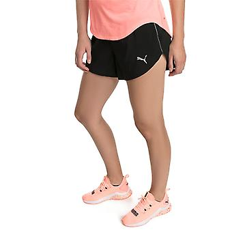 PUMA ignite 3 ladies of black woven shorts