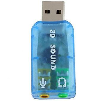External sound card USB 3D 5.1 CH