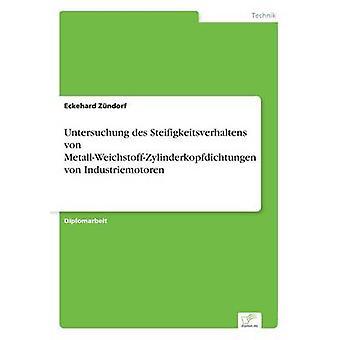 Untersuchung des Steifigkeitsverhaltens von MetallWeichstoffZylinderkopfdichtungen von Industriemotoren av Zndorf & Eckehard