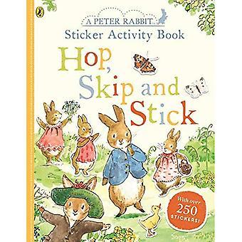 Piotruś królik chmiel, Skip, trzymać naklejki aktywności