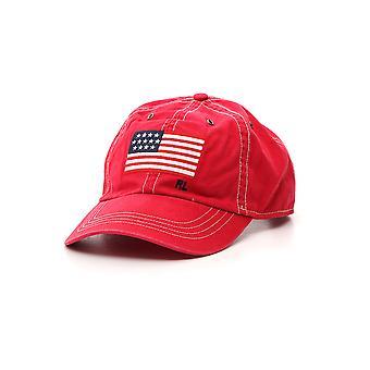 Ralph Lauren rojo sombrero de algodón