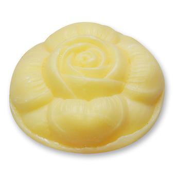 Florex schapen melk vers Lemony SOAP - citroen - geur in de vorm van roze 110 g