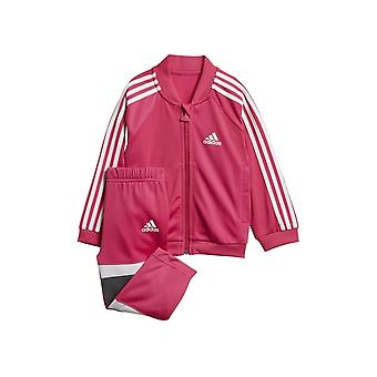 Adidas Infant Girls Shiny Tracksuit DJ1586