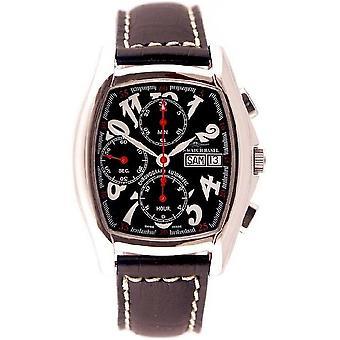 Zeno-watch montre tonneau écran chronographe-date 9086TVDD-h1
