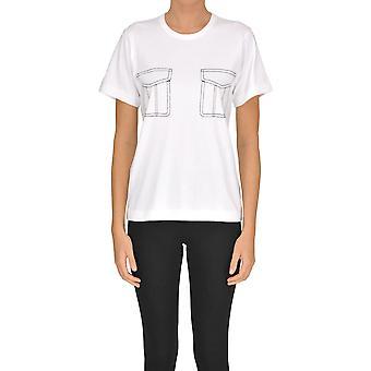 Comme Des Garçons White Cotton T-shirt