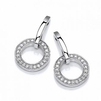 Cavendish French Sparkling Circle Earrings