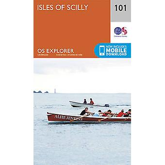 Isles of Scilly (September 2015 ed) by Ordnance Survey - 978031924303